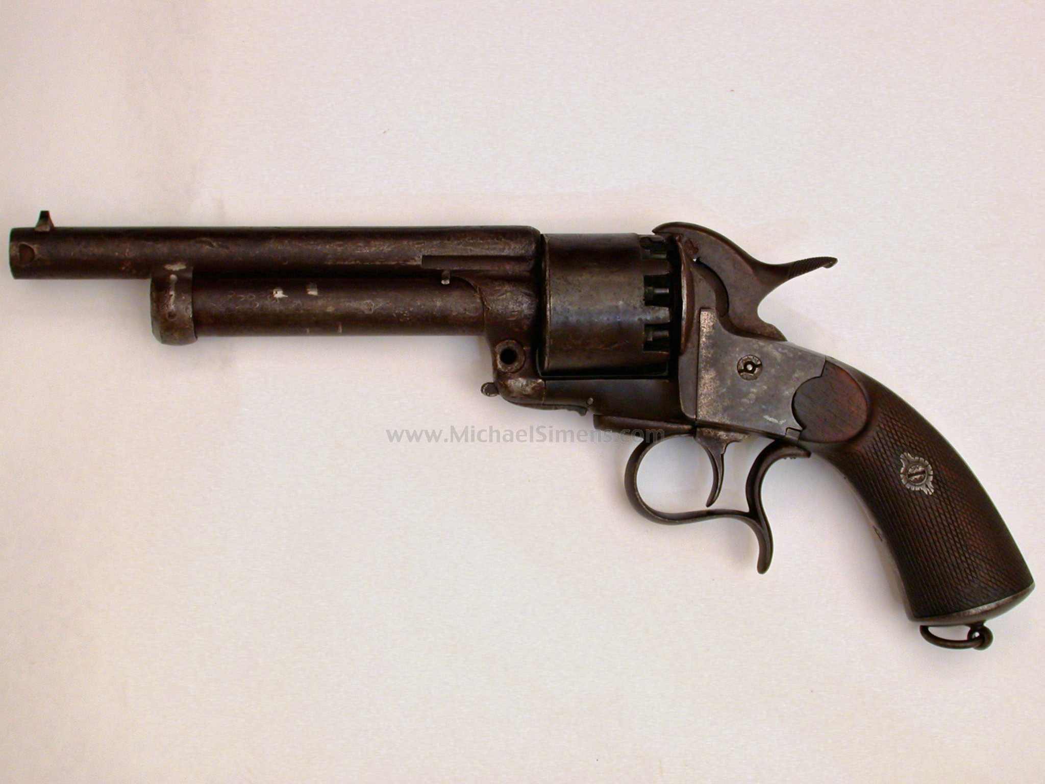 Lemat Revolvers For Sale http://www.michaelsimens.com/antique-guns-revolvers-pistols-derringers-for-sale/one-of-the-finest-lemat-revolvers-in-the-world.html