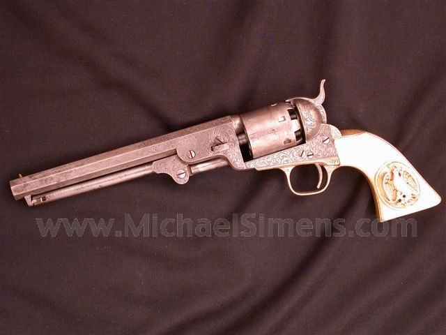 COLT, MODEL 1851 NAVY REVOLVER MICHAEL BULGER