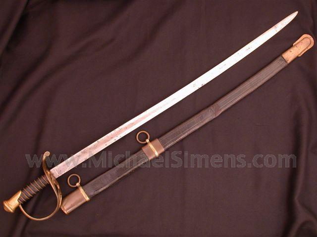 CONFEDERATE COLLEGE HILL SWORD.