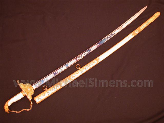 AMERICAN EAGLE-POMMEL SWORD C. 1820'S - 1830'S