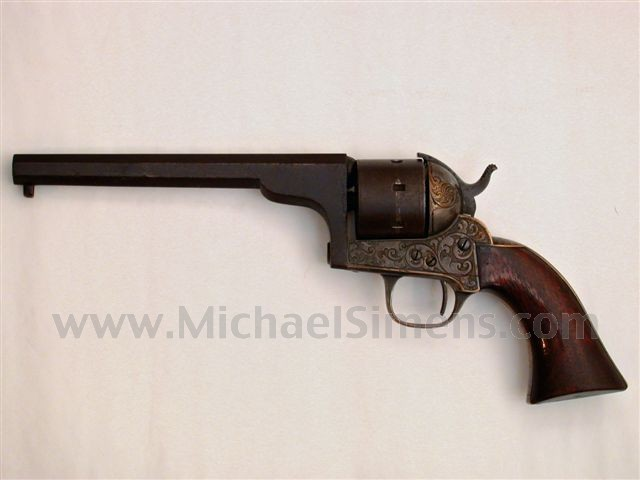 CIVIL WAR MOORE REVOLVER - INSCRIBED CIVIL WAR GUN