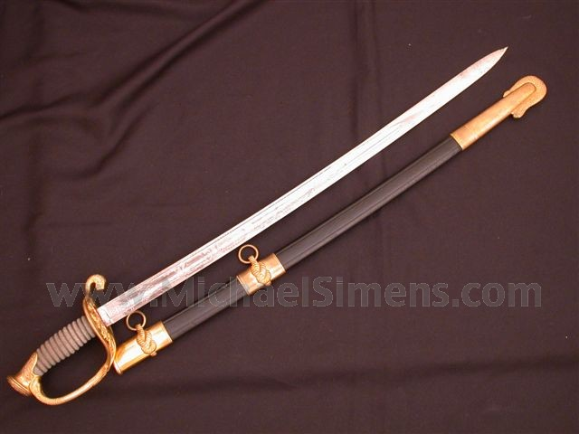 CIVIL WAR NAVAL OFFICERS SWORD