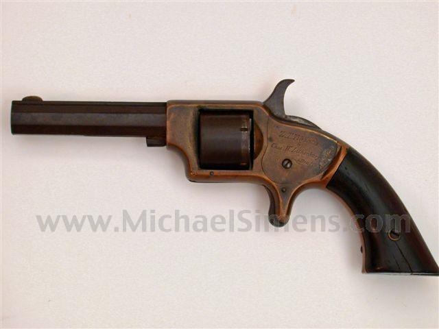 SPRINGFIELD ARMS COMPANY POCKET REVOLVER, HISTORICALLY INSCRIBED