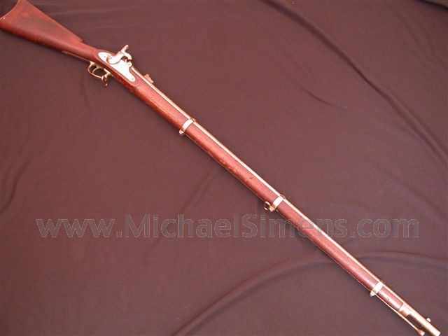 1863 SPRINGFIELD MUSKET FOR SALE, WINDSOR CONTRACT