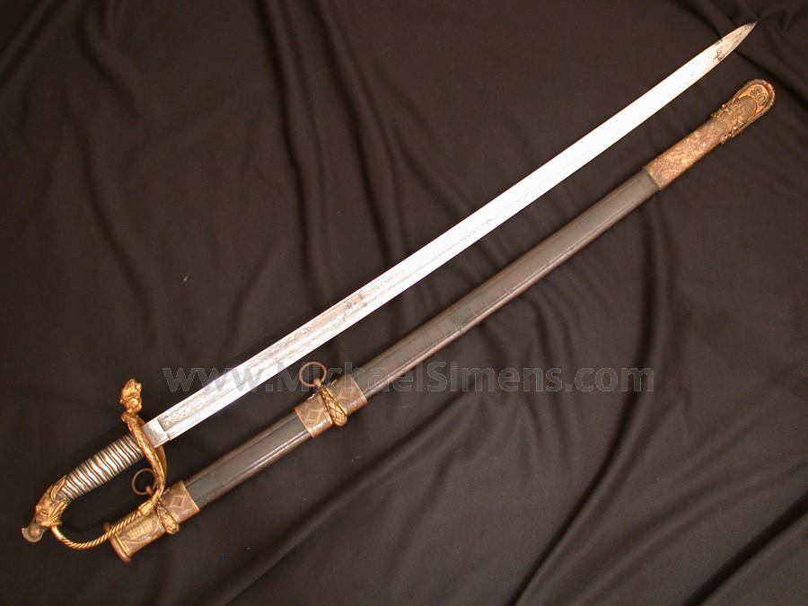 TIFFANY CIVIL WAR PRESENTATION SWORD
