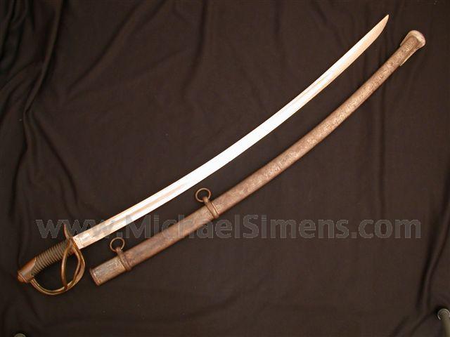 CONFEDERATE SWORD, WILLIAM GLAZE