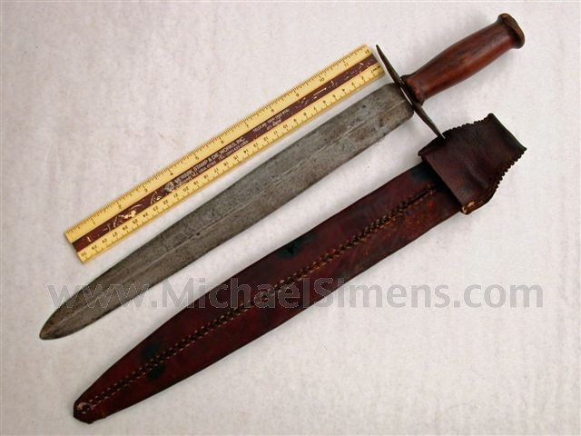 CIVIL WAR BOWIE KNIFE FOR SALE, CONFEDERATE - HISTORICAL KNIFE APPRAISER