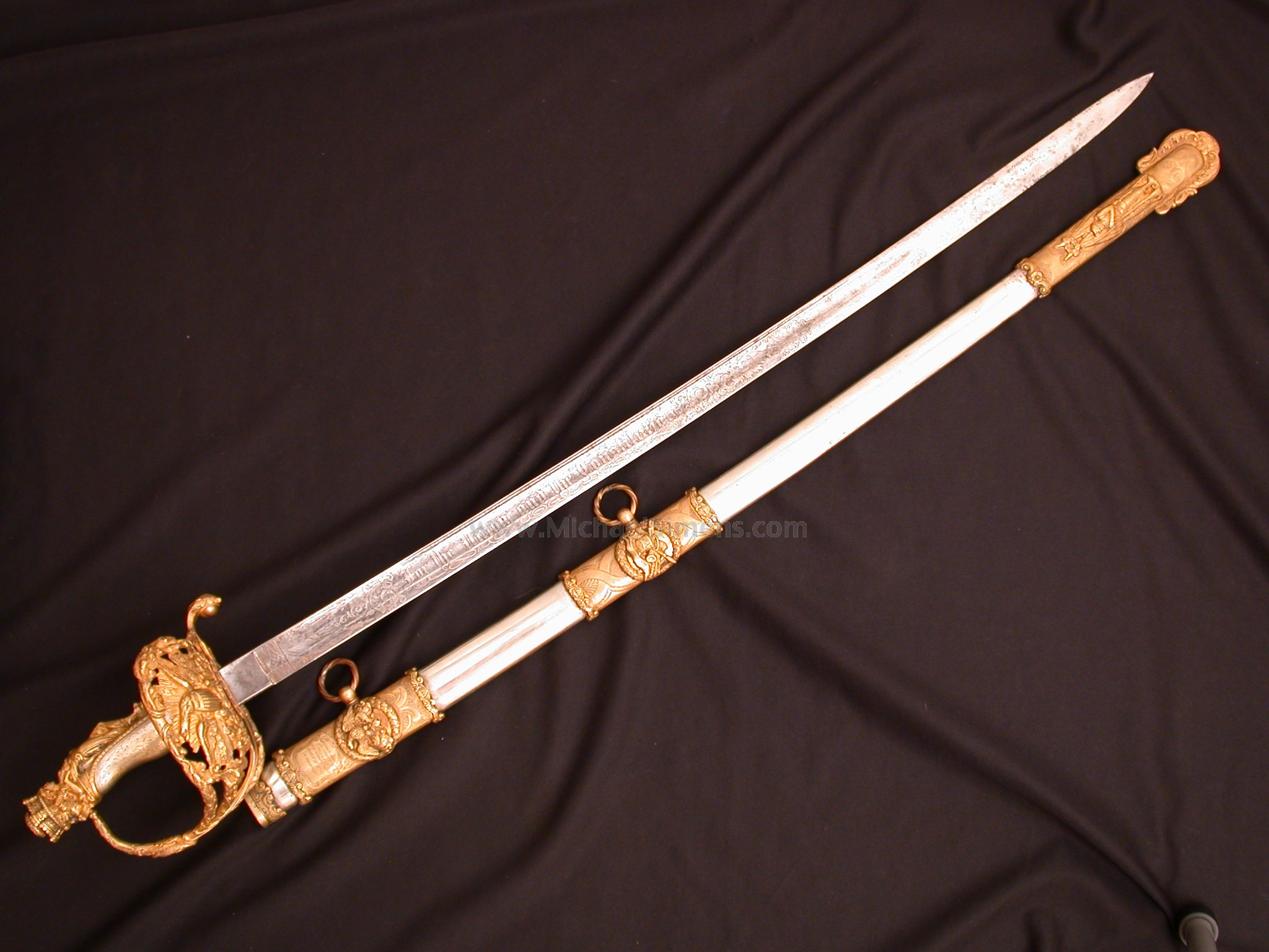 CIVIL WAR PRESENTATION SWORD