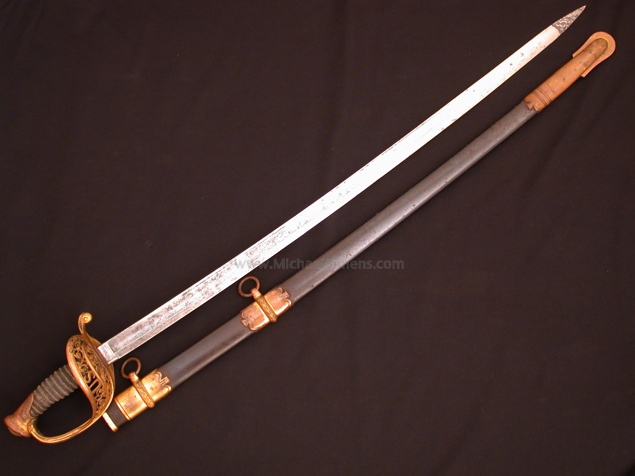 AMES CIVIL WAR OFFICERS SWORD