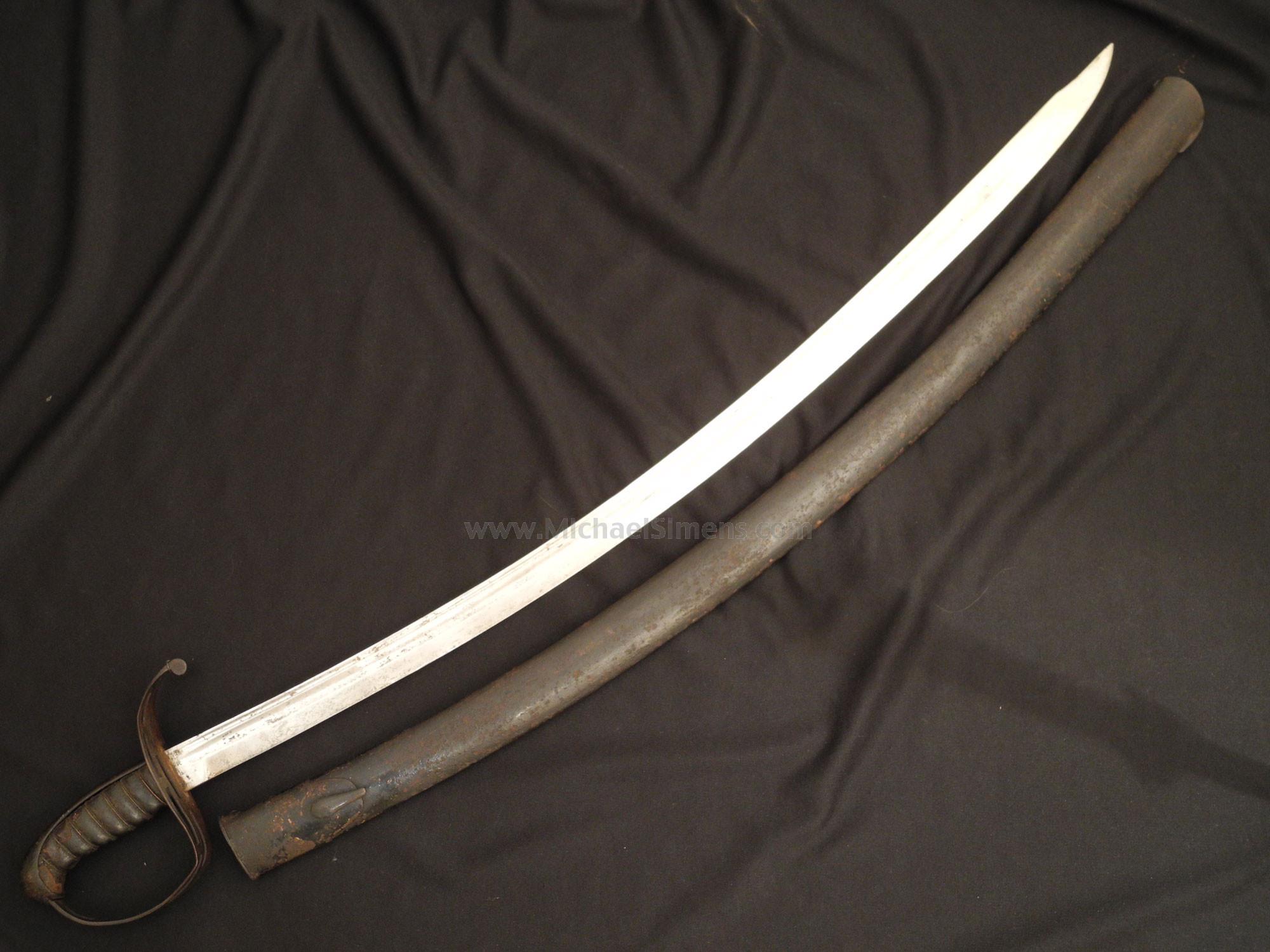 VIRGINIA MANUFACTORY SABER, CIVIL WAR SWORD