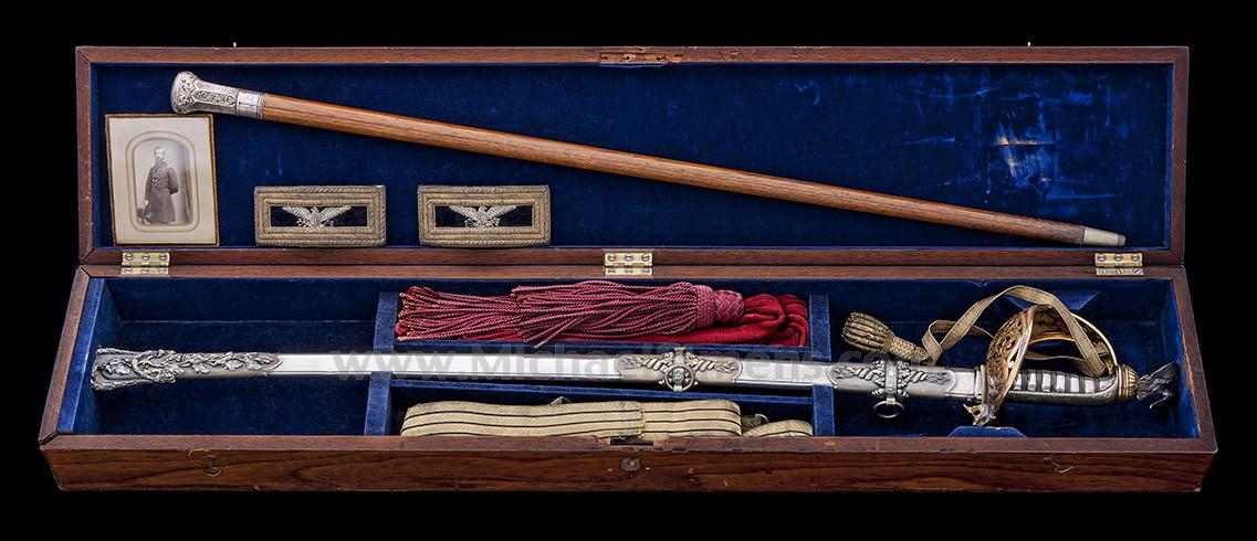 HISTORIC TIFFANY CIVIL WAR SWORD