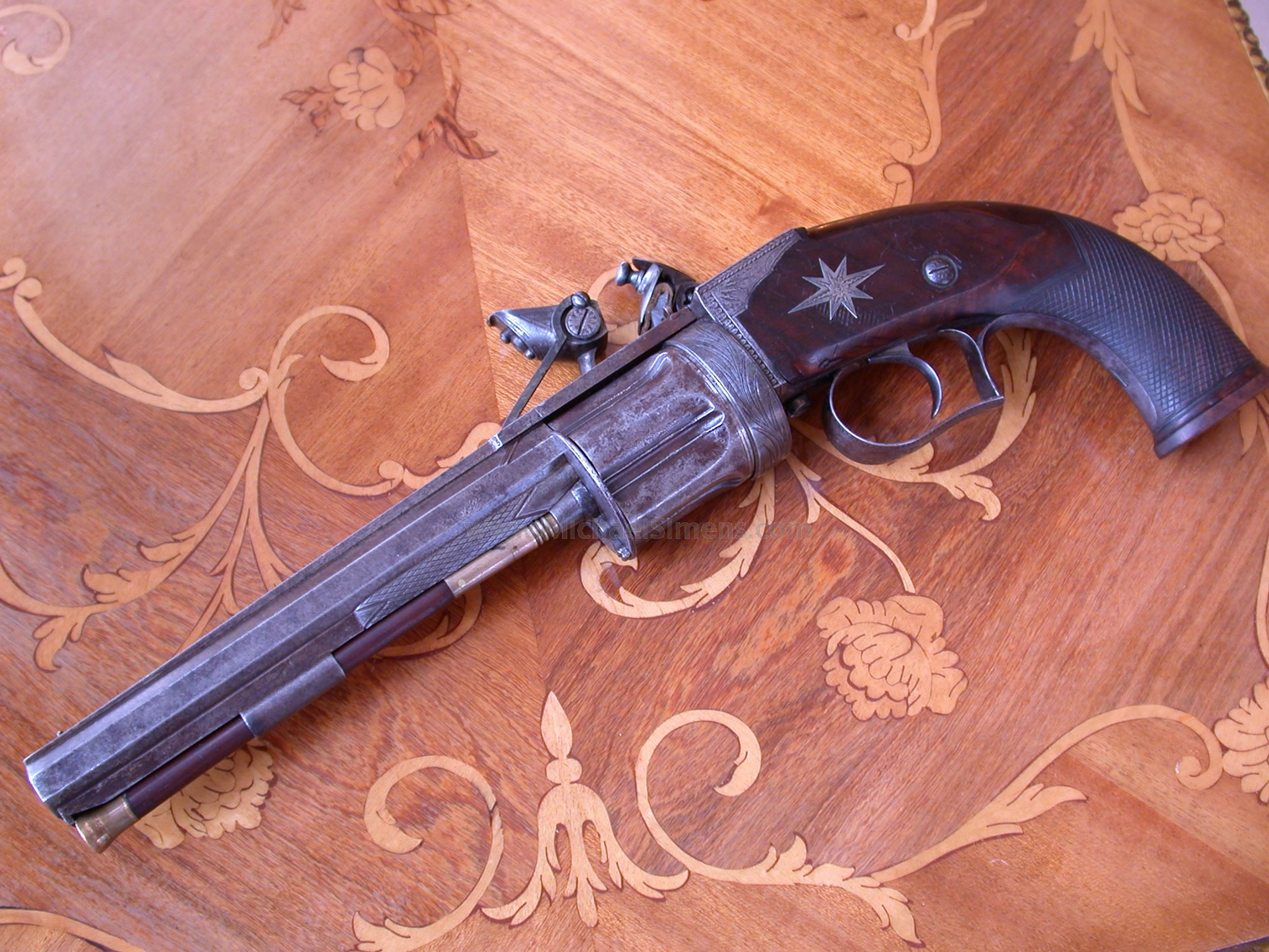 RARE, ANTIQUE COLLIER REVOLVER
