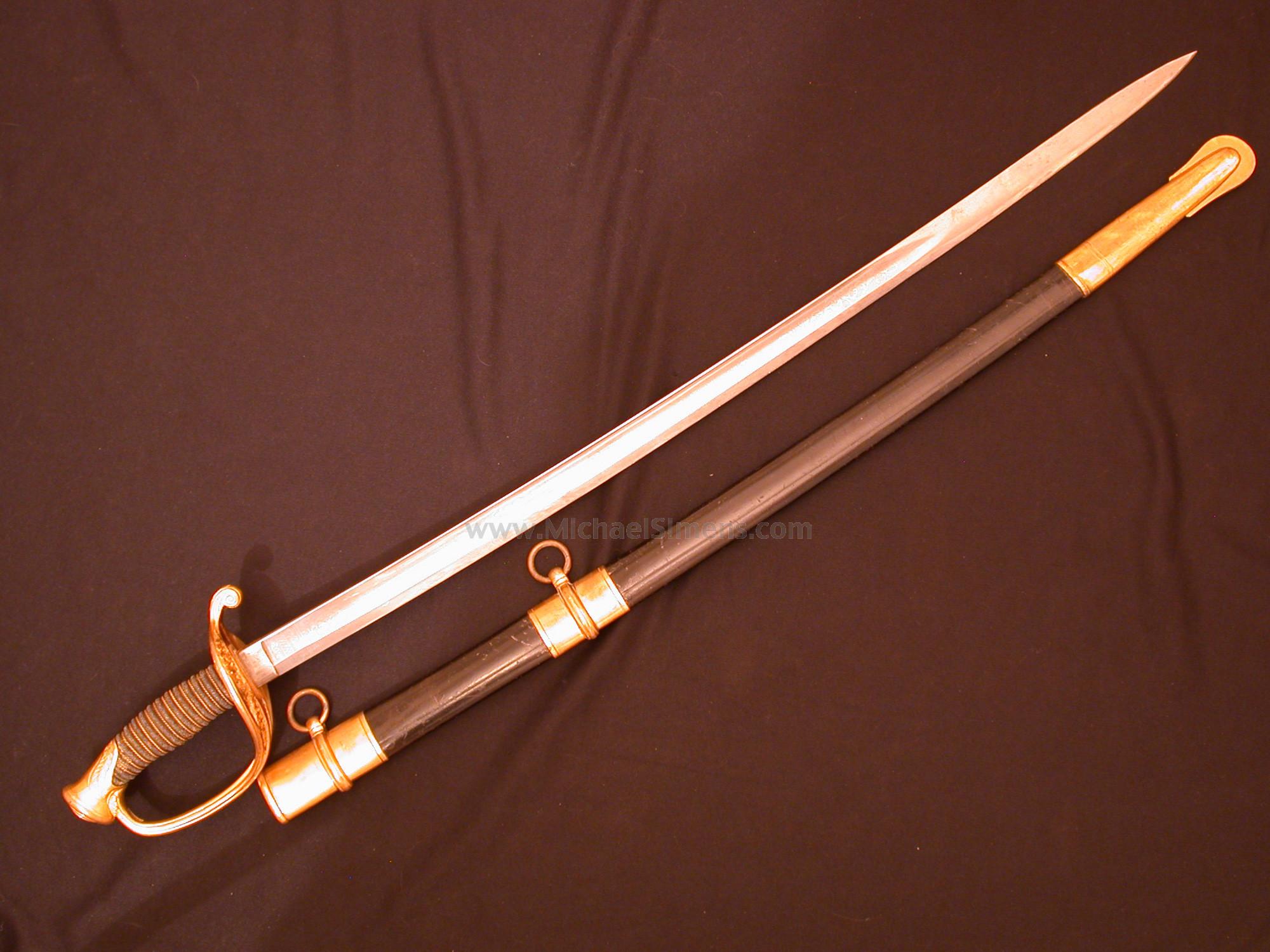 AMES 1850 FOOT OFFICERS SWORD