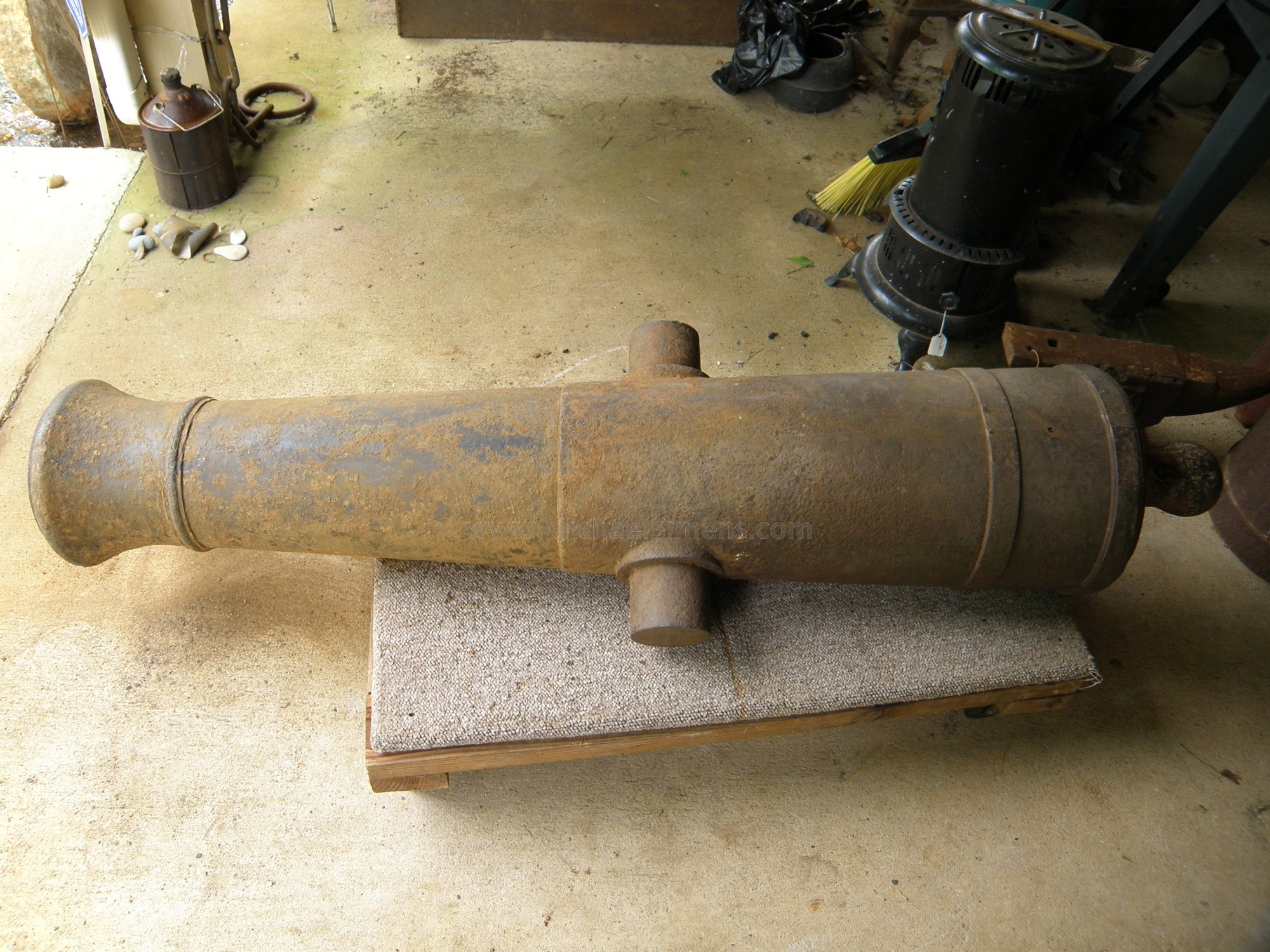 CIVIL WAR CANNON FOR SALE, IRON 6-POUNDER