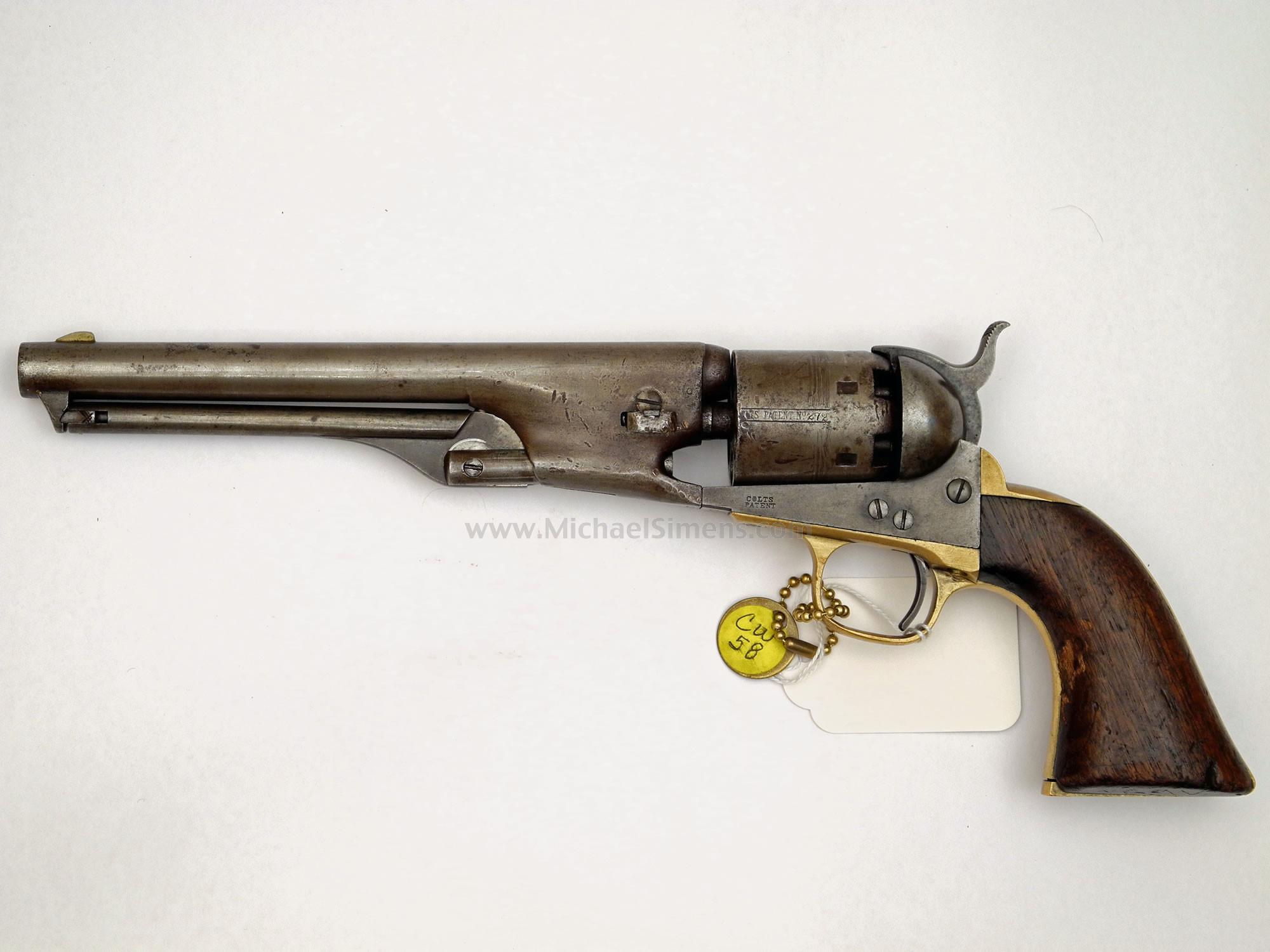 MARTIAL COLT 1861 NAVY REVOLVER