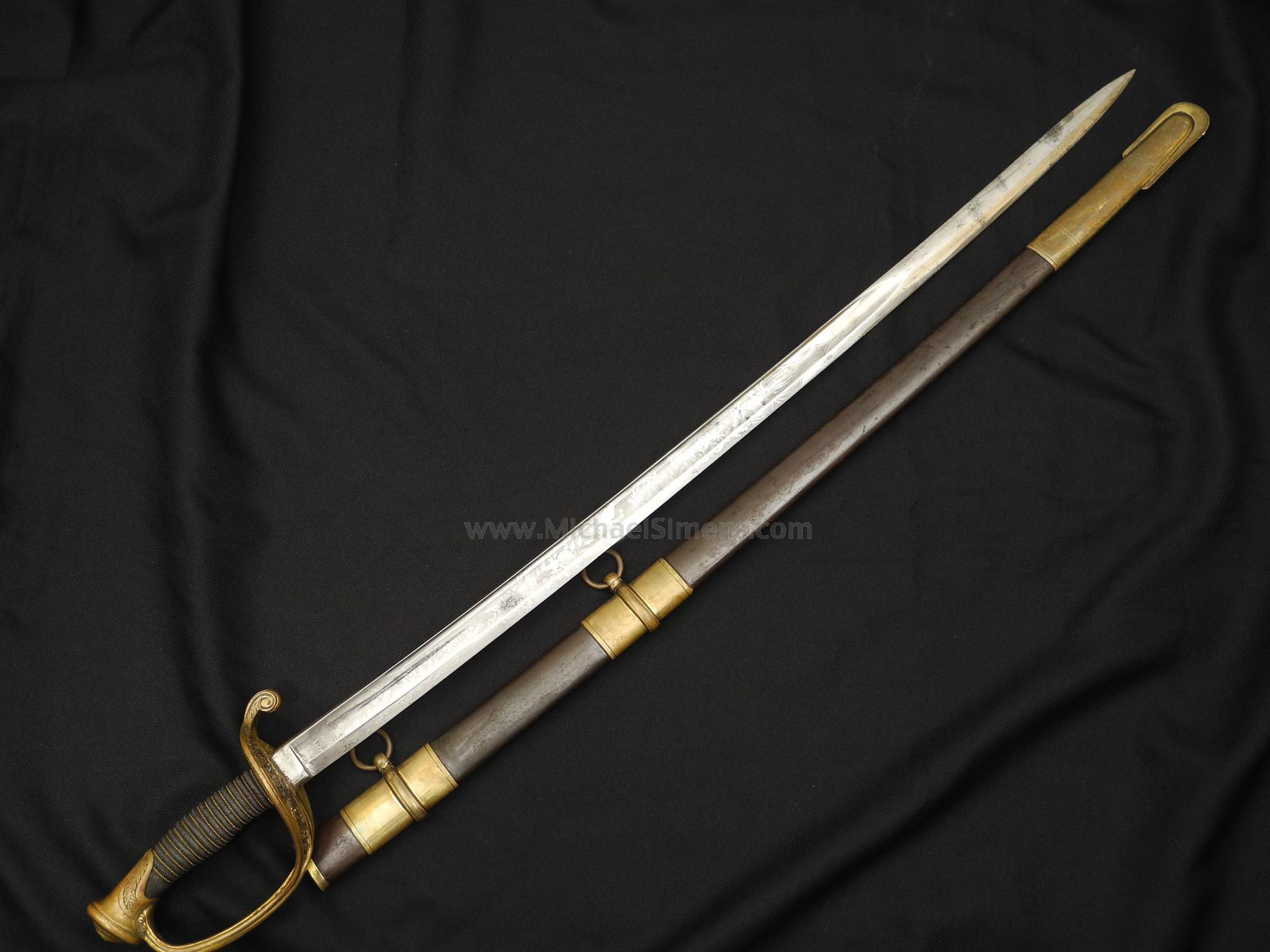 CIVIL WAR GENERAL SWORD - CIVIL WAR SWORD BUYER, DEALER, APPRAISER