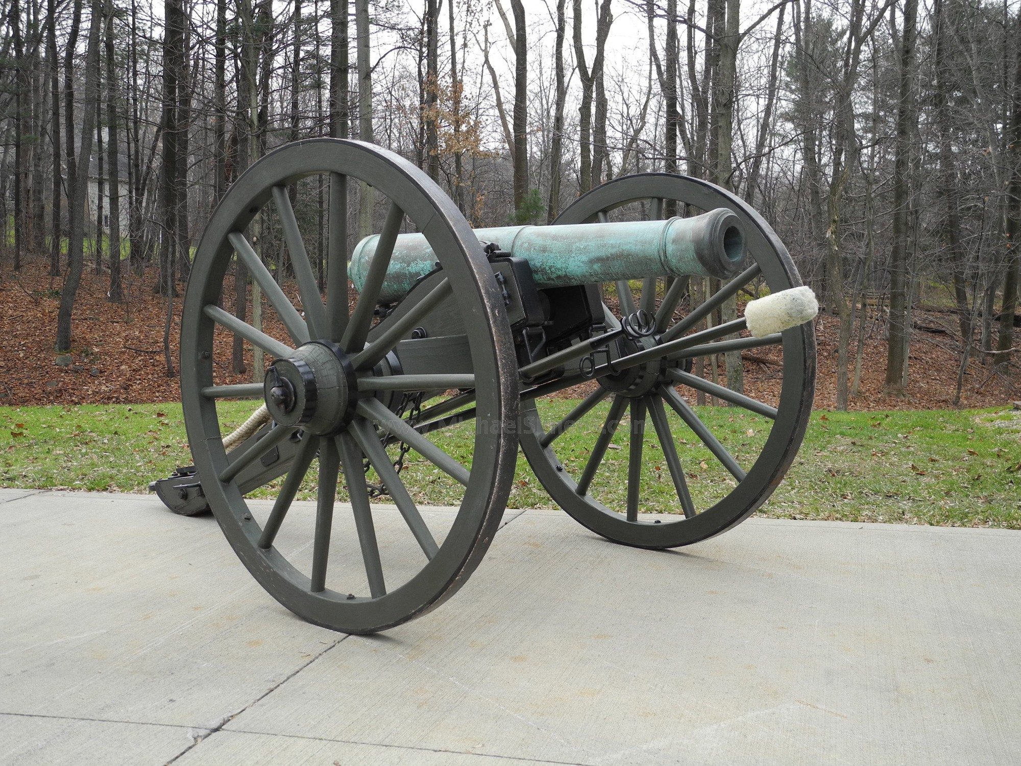AMES CANNON 6-POUNDER CIVIL WAR