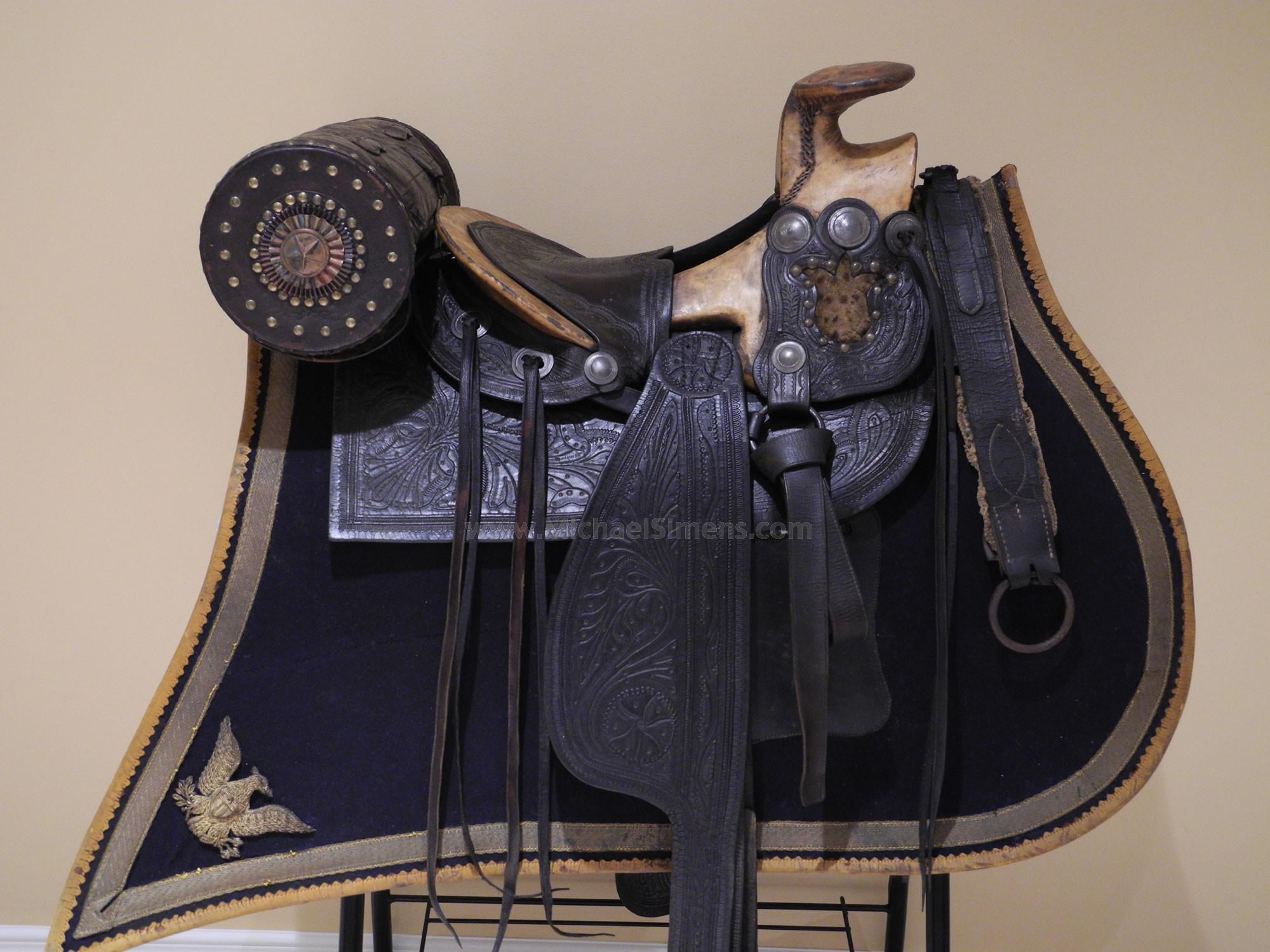 CIVIL WAR OFFICER'S SADDLE, Confederate