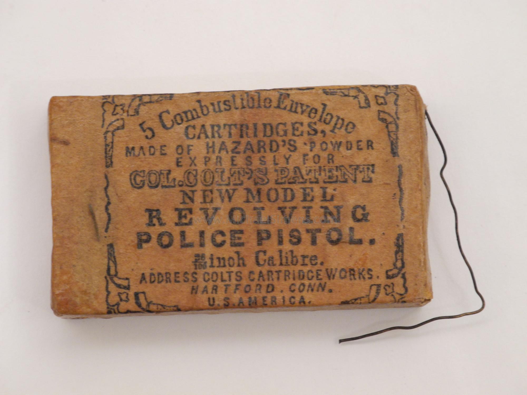 Colt Police Revolver Skin Cartridges for sale - Antique Colt Accessory Dealer