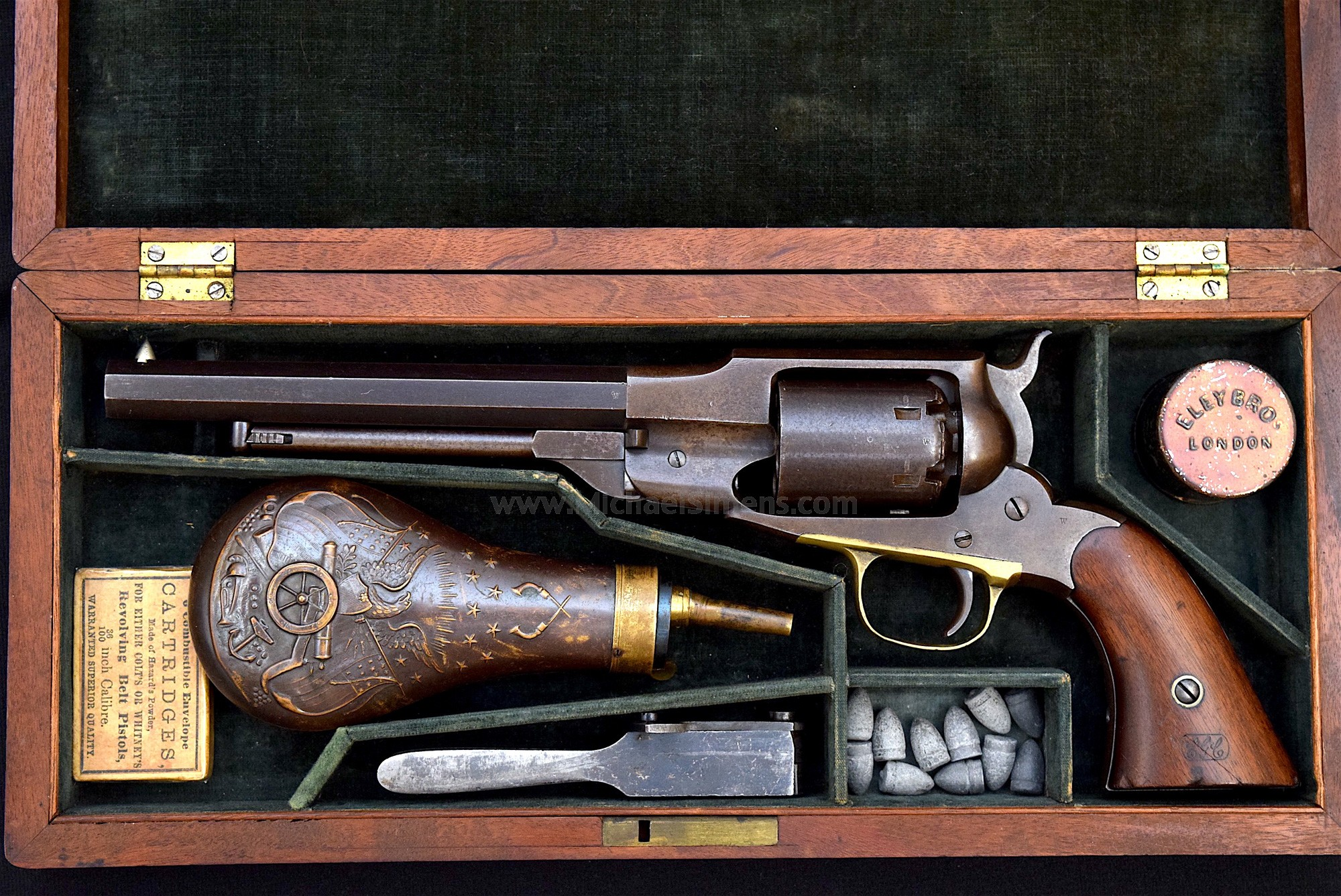 REMINGTON BEALS / WHITNEY REVOLVER CASE