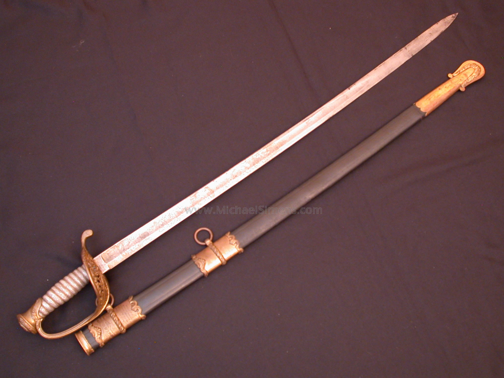 Schuyler, Hartley & Graham Presentation Officers Sword to