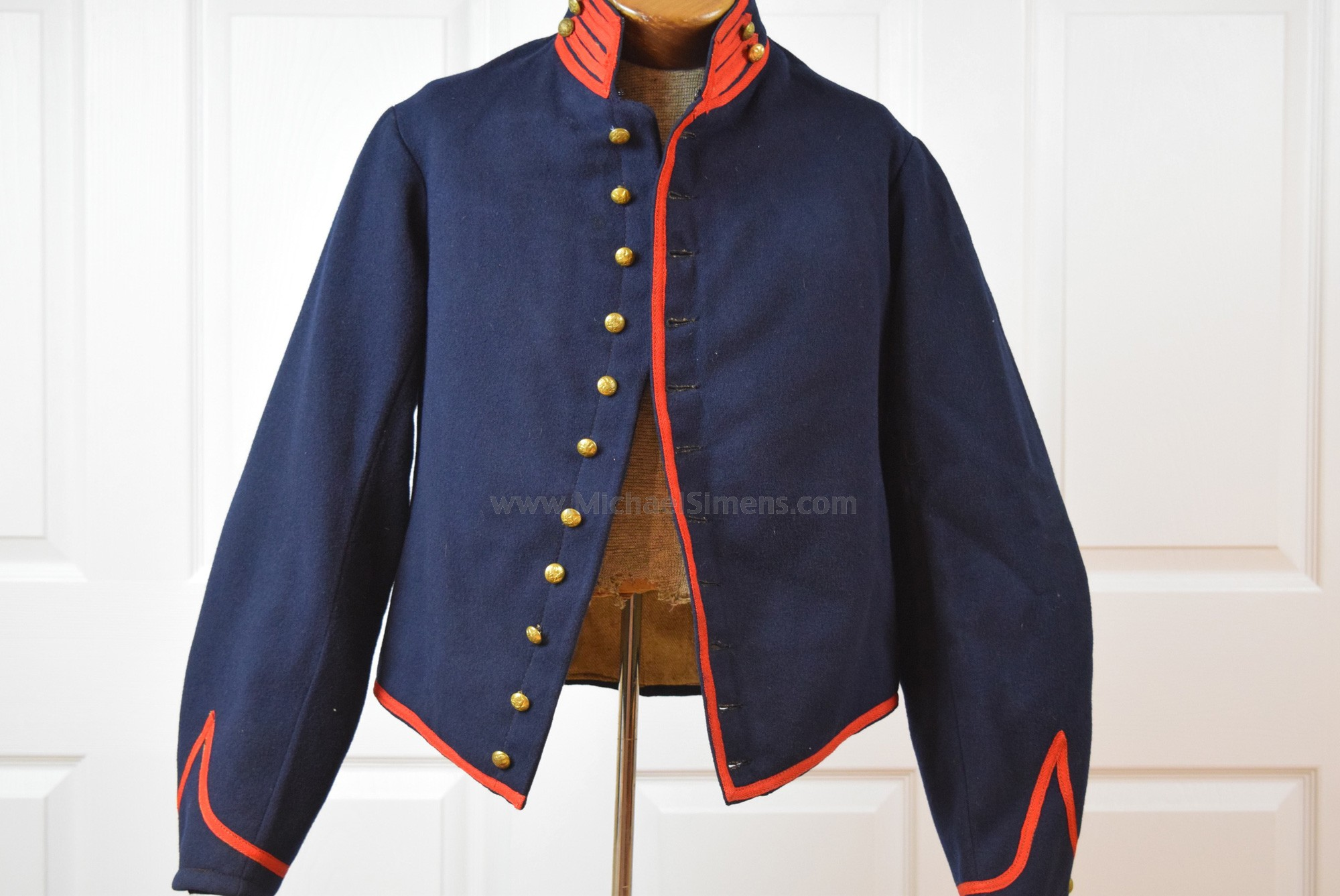 CIVIL WAR ARTILLERY SHELL JACKET