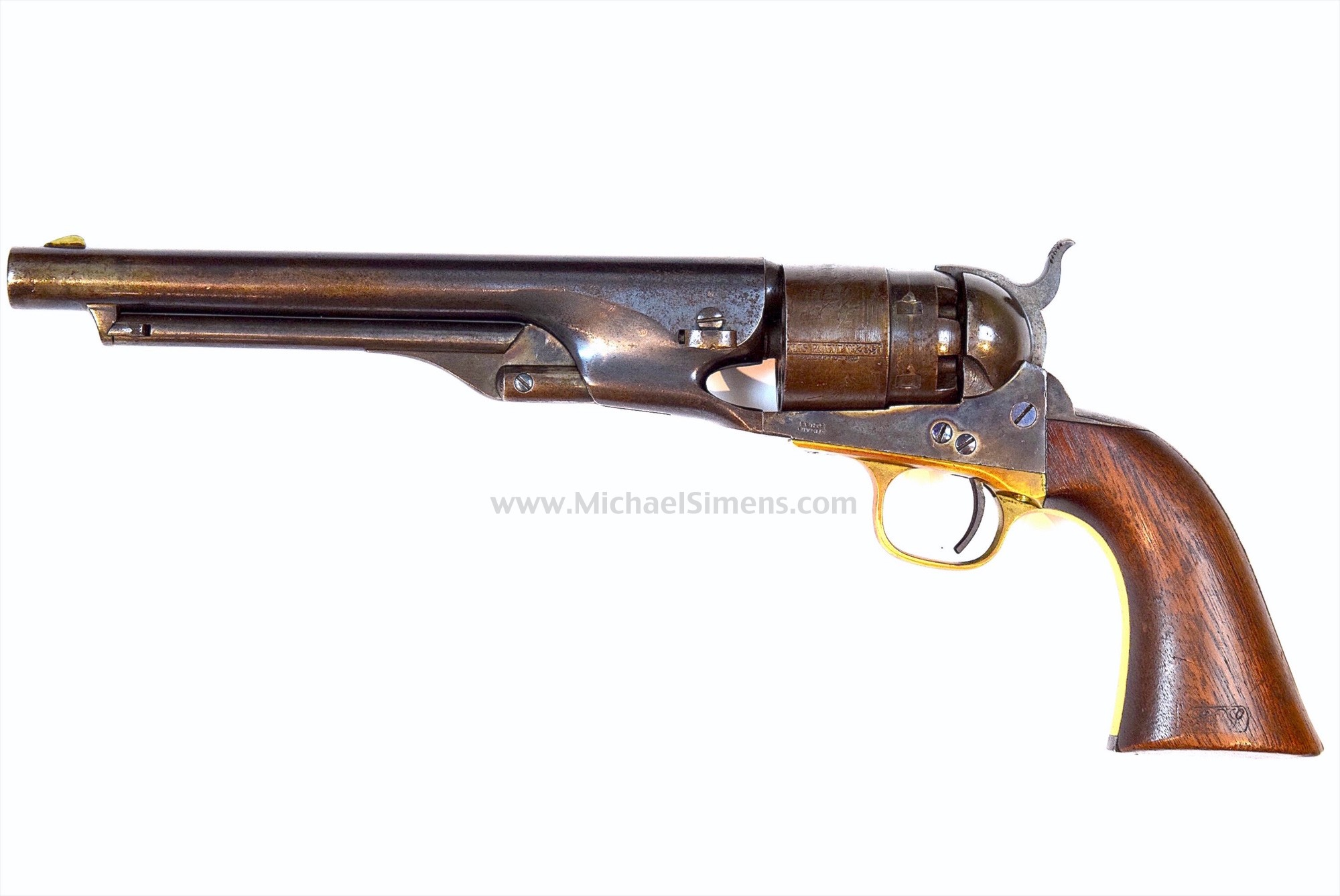 BEAUTIFUL, HIGH-FINISH COLT 1860 ARMY REVOLVER OF THE CIVIL WAR