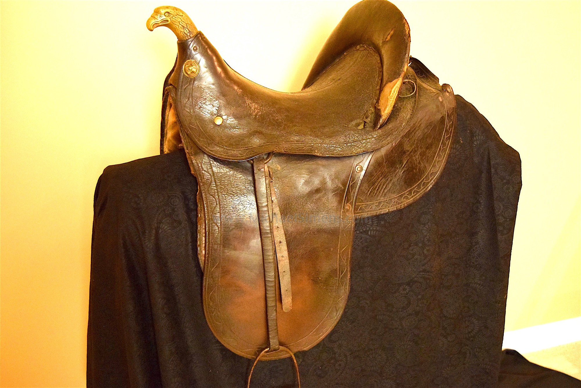 OFFICERS CIVIL WAR SADDLE