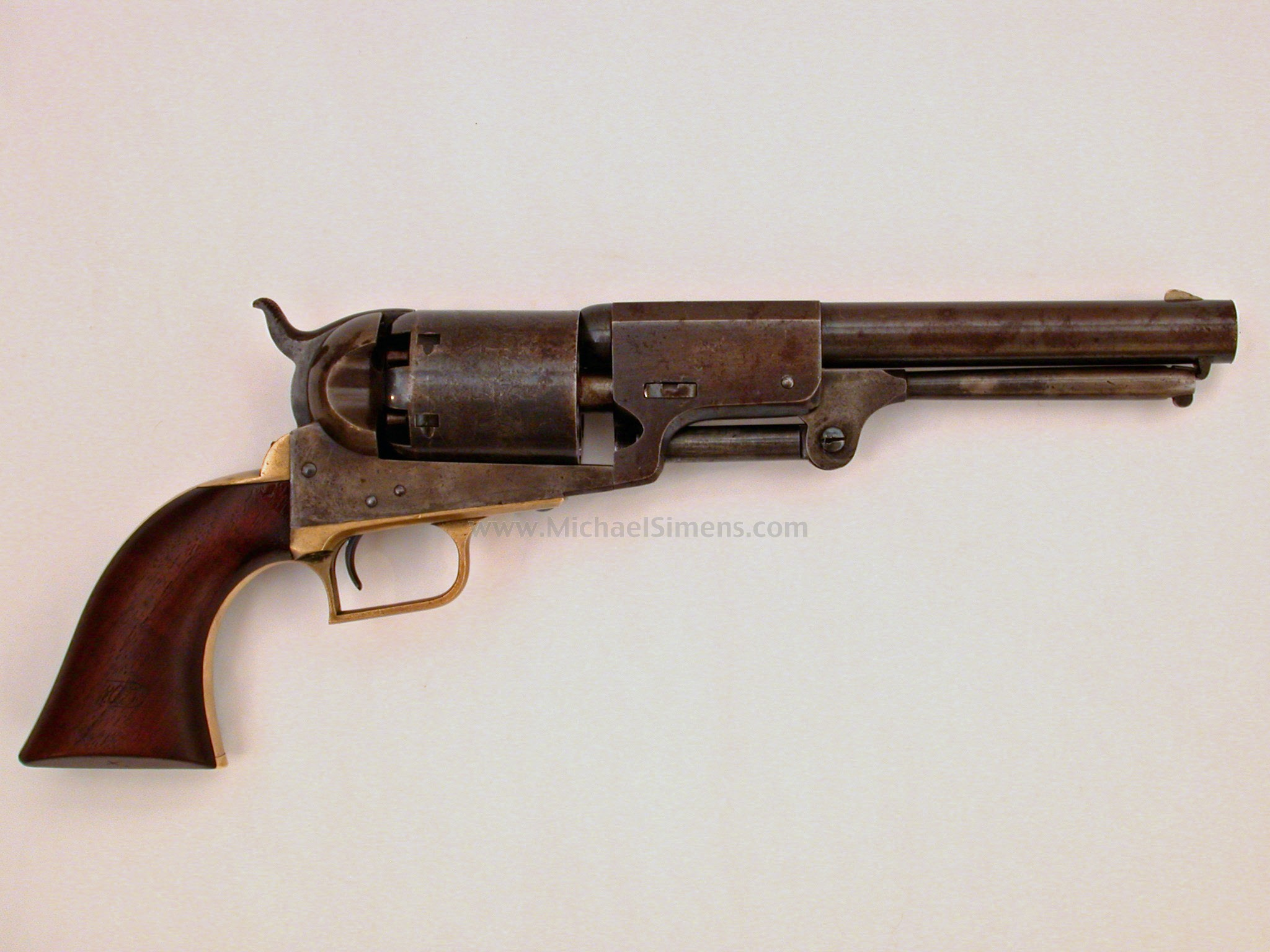 COLT 2ND MODEL DRAGOON WITH MASSACHUSETTS MARKINGS