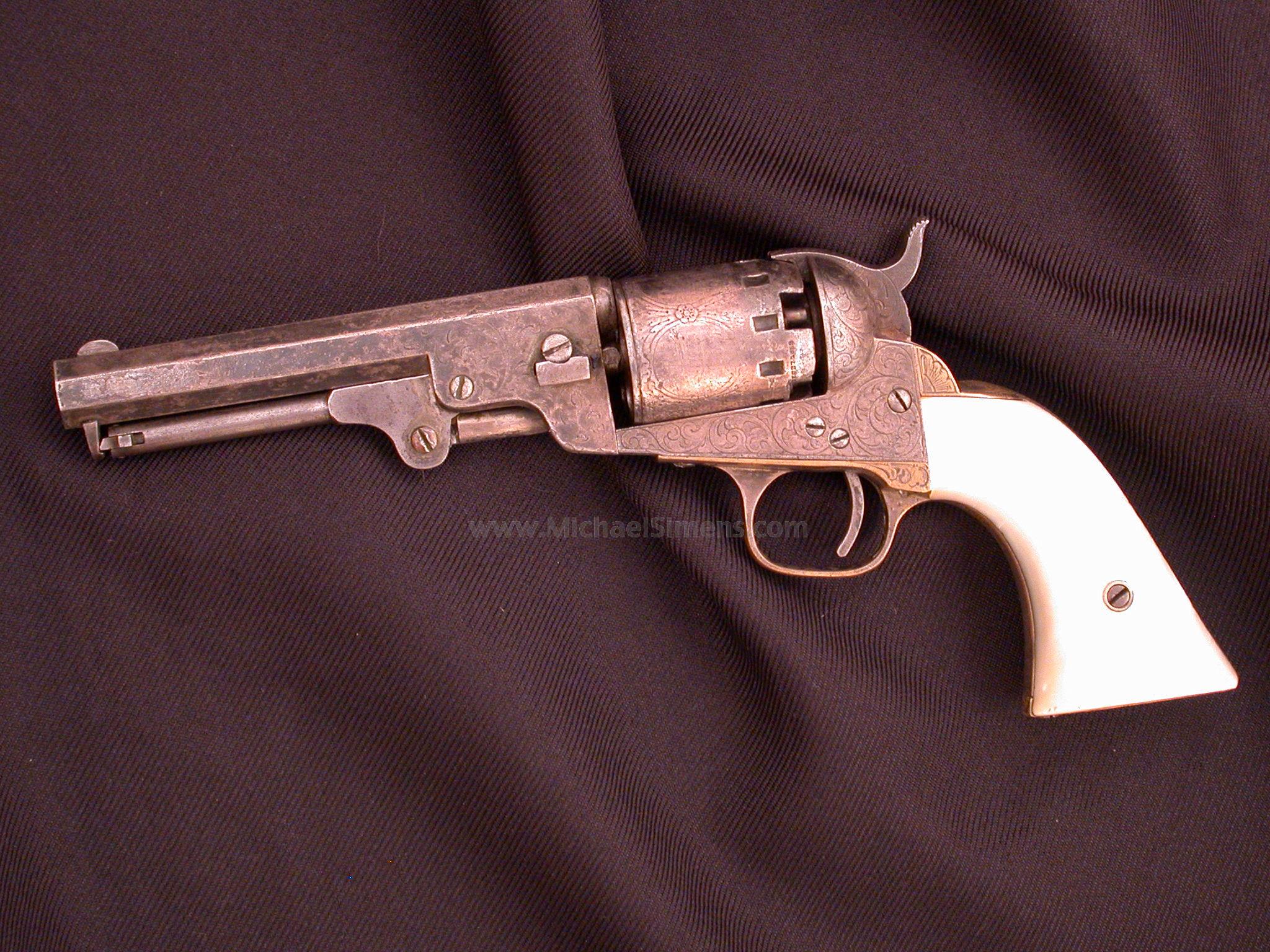 MANHATTAN NAVY REVOLVER, CIVIL WAR GUN