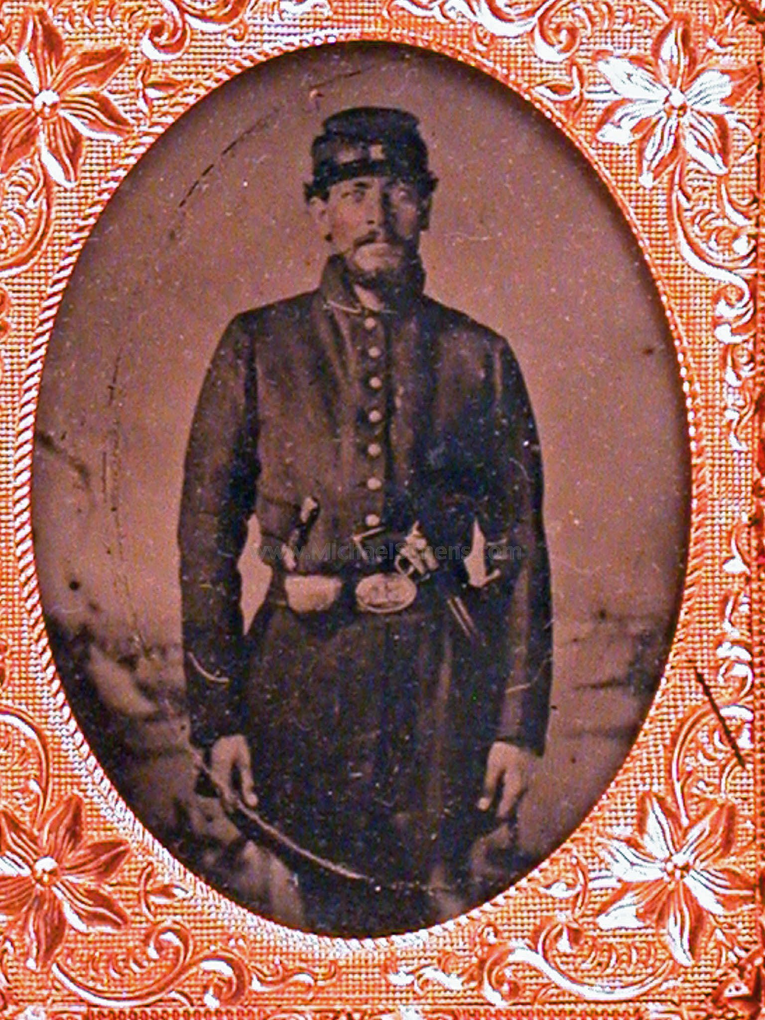 CIVIL WAR TINTYPE PHOTOGRAPH