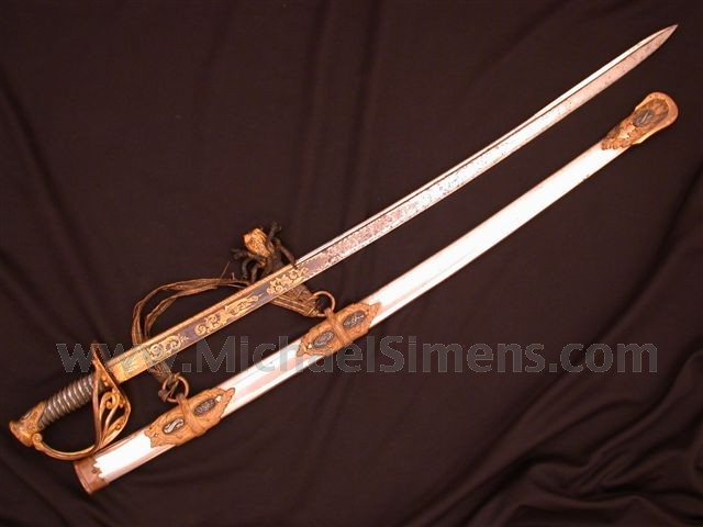 SAUERBIER CAVALRY / STAFF OFFICERS SWORD