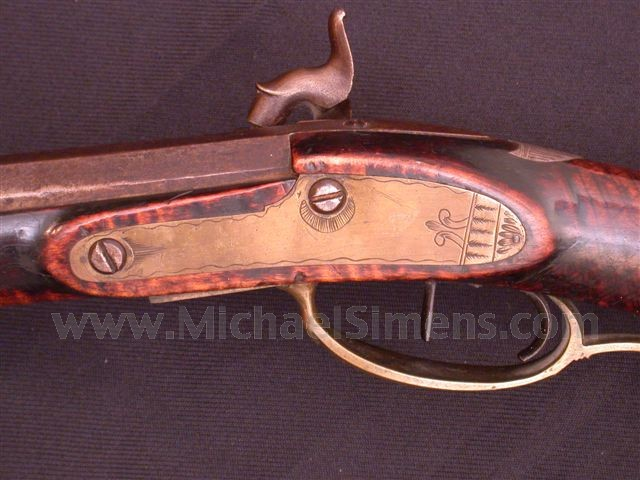 """KENTUCKY RIFLE OF """"THE GOLDEN AGE""""."""