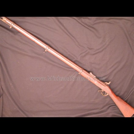 CIVIL WAR TOWER ENFIELD RIFLE DATED 1862. IDENTIFIED.