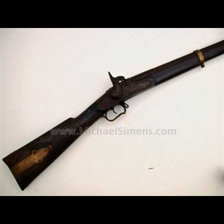 CIVIL WAR MUSKET, P. S. JUSTICE PERCUSSION RIFLE