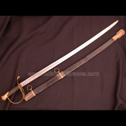 CONFEDERATE COLLEGE HILL SWORD.