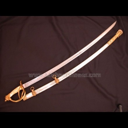 CIVIL WAR CAVALRY OFFICERS SABRE, IVORY GRIP