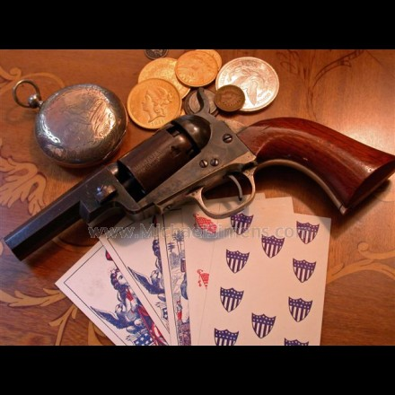 "COLT ""WELLS-FARGO"" POCKET REVOLVER."