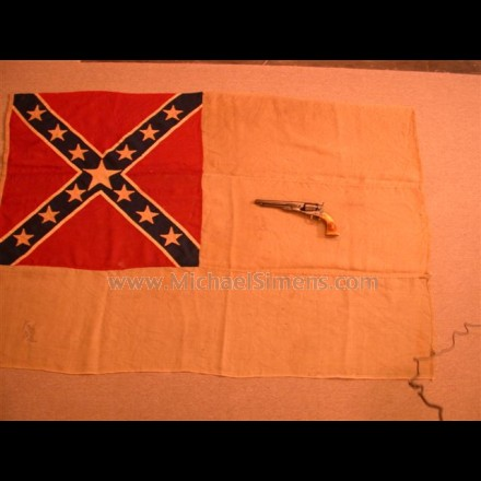 CONFEDERATE CIVIL WAR FLAG, SECOND NATIONAL