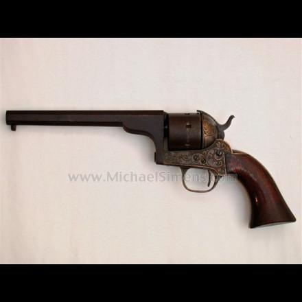 CIVIL WAR MOORE REVOLVER - INSCRIBED CIVIL WAR GUN