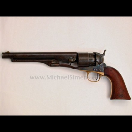 COLT 1860 ARMY REVOLVER, 4-SCREW FRAME