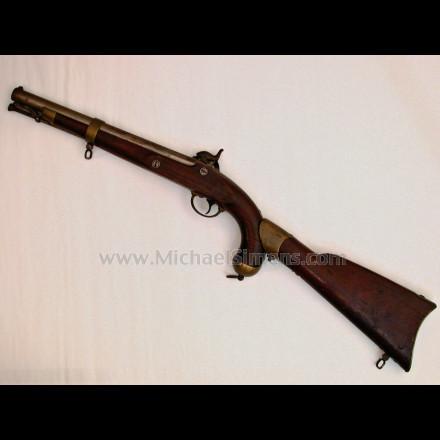 ANTIQUE GUN - SPRINGFIELD MODEL 1855 PISTOL CARBINE.