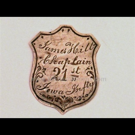 CIVIL WAR ID BADGE FOR SALE