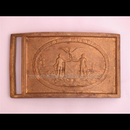 CIVIL WAR BELT-PLATE, STATE OF MARYLAND PLATE.