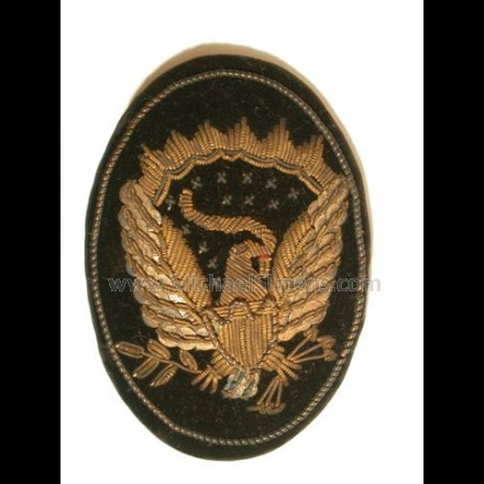 CIVIL WAR OFFICERS HAT BADGE.