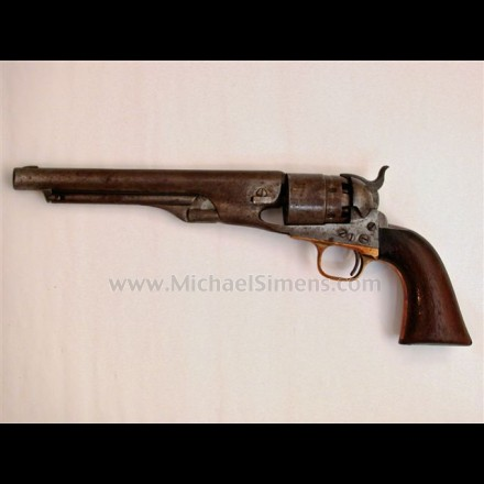 ANTIQUE COLT REVOLVER FOR SALE, MODEL 1860 ARMY.