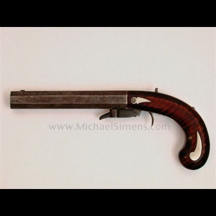 ANTIQUE KENTUCKY PISTOL / UNDERHAMMER PISTOL
