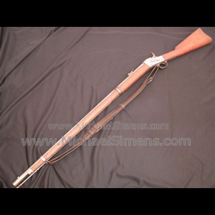 ANTIQUE SPRINGFIELD RIFLE, 1871 Rolling Block Rifle, Remington patent.