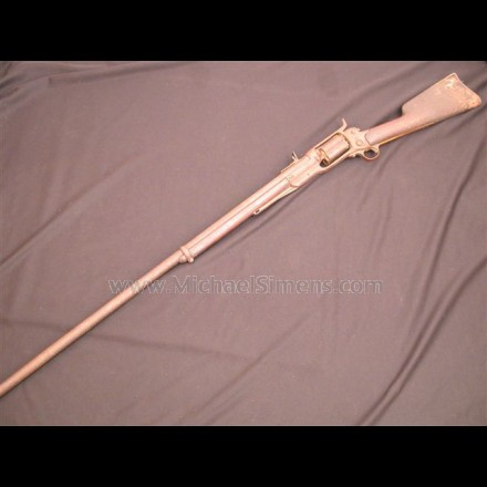 ANTIQUE COLT REVOLVING RIFLE