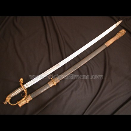TIFFANY CIVIL WAR PRESENTATION SWORD